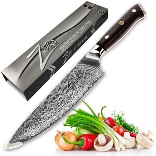 ZELITE INFINITY Chef Knife 8 inch - Alpha-Royal Series