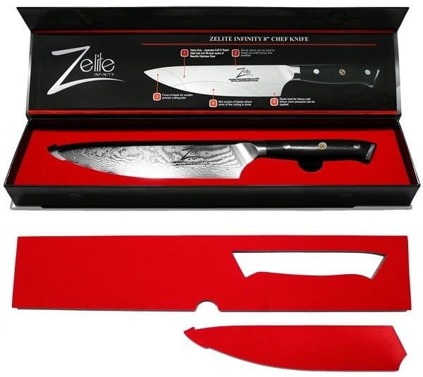 ZELITE INFINITY Chef Knife 8 inch - Alpha-Royal Series