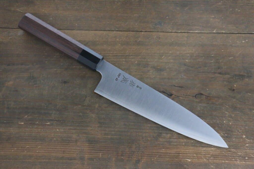 japanese knife steel - high carbon - hap40