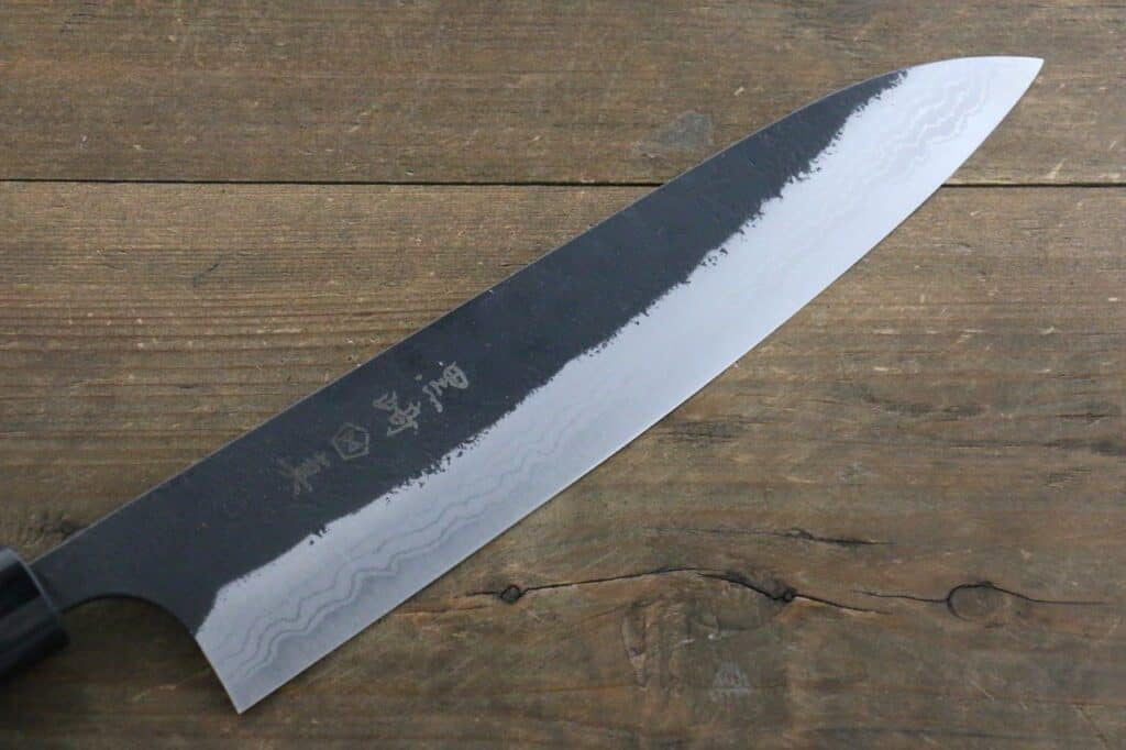 japanese knife steel type - high carbon