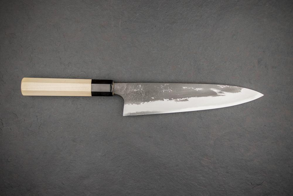 japanese knife steel - high carbon - white paper shirogami